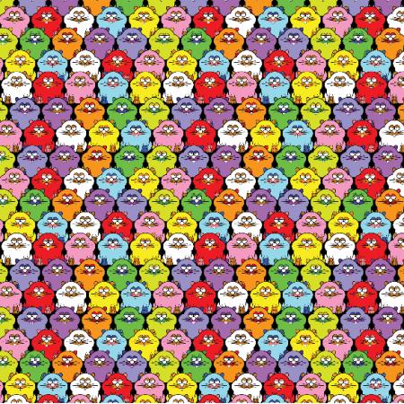 Tkanina 28554   Hamsters XS