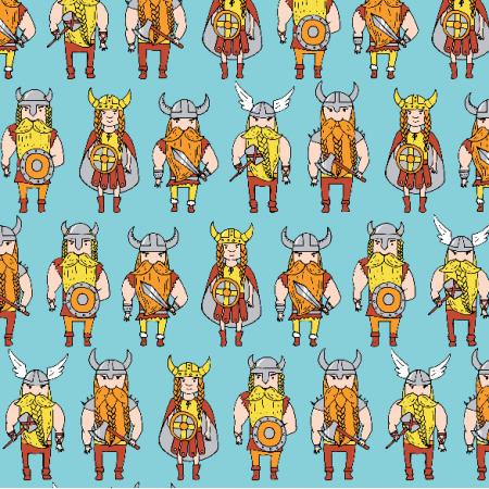 Fabric 2986 | vikings