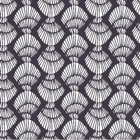 Fabric 3043 | Shell stripe-Ink