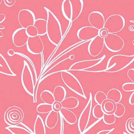 Tkanina 483 | floral tile
