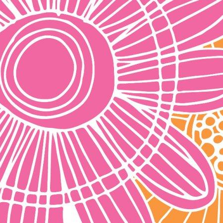 Tkanina 484 | floral pop