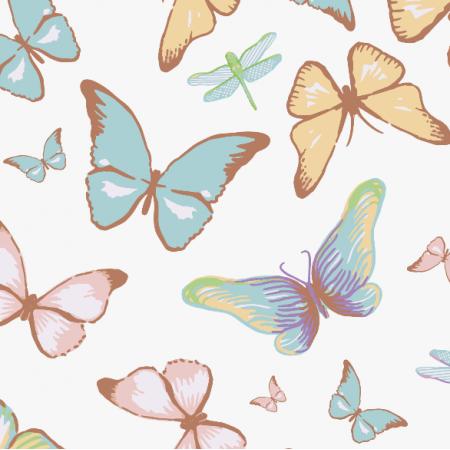 Fabric 3119 | butterflies