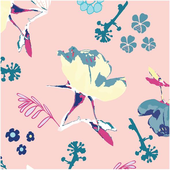 Tkanina 3145 | buttonhole Rose, pink