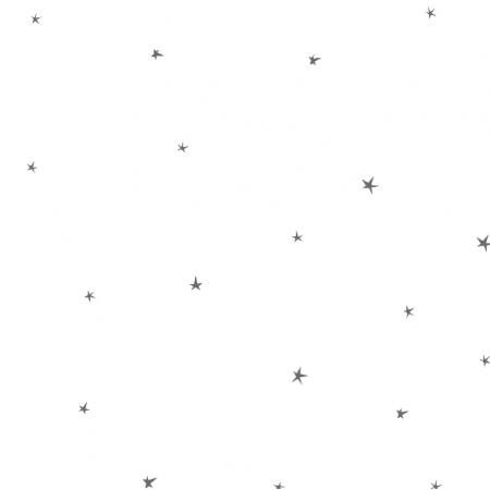 Tkanina 3150 | gwiazdki szare