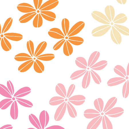 Fabric 489 | cluster of flowers