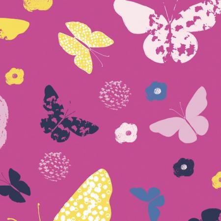 Tkanina 492 | butterfly garden