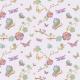 Fabric 3198 | japanese garden, lilac