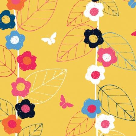 Fabric 494 | secret garden