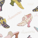 Tkanina 3209 | chinoiserie shoes