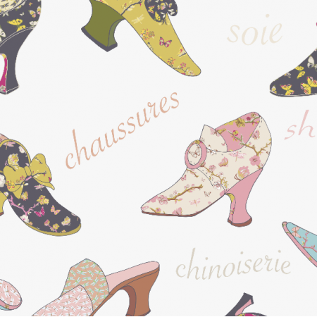 Fabric 3209 | chinoiserie shoes