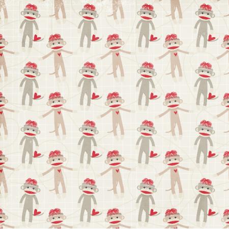 3229 | monkey sock