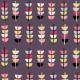 497 | retro flower