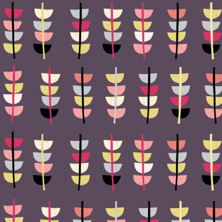 Fabric 497 | retro flower
