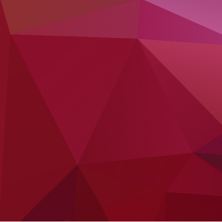 Tkanina 3236 | POPPY RED AND LILAC LOWPOLY