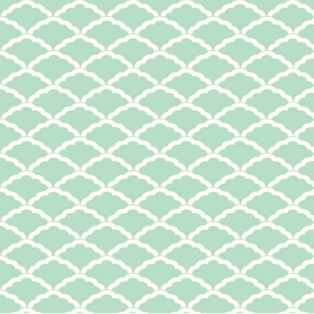 Tkanina 3273 | mermaid