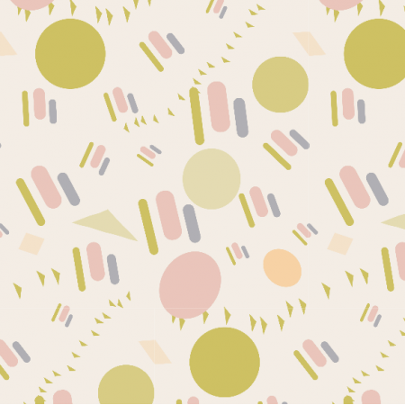 Fabric 3396 | playful shapes