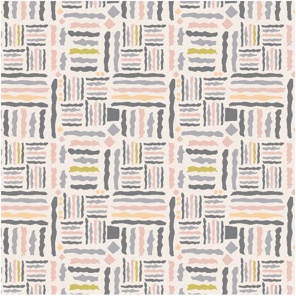 Fabric 3401 | tribal, light