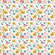 Tkanina 3407 | flowerpower