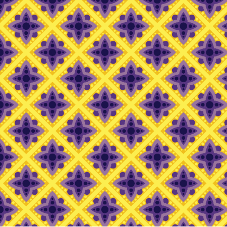 Fabric 3454 | ornamental pattern