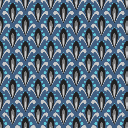 Tkanina 3455 | ornamental pattern