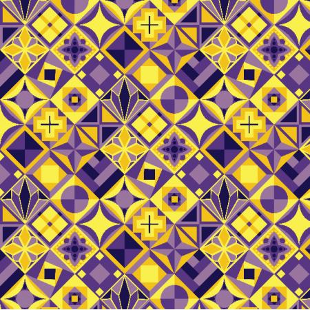 Tkanina 3464 | ornamental pattern