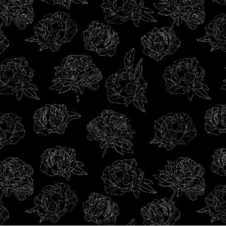 Fabric 3467 | peonies