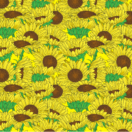 Fabric 3468 | Sunflowers