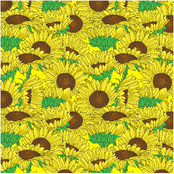 Tkanina 3468 | Sunflowers