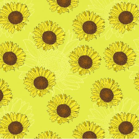 Fabric 3469 | Sunflowers