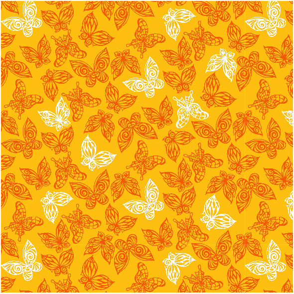 Fabric 3600 | butterflies