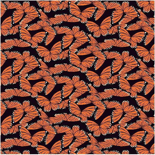 Fabric 3601 | butterflies