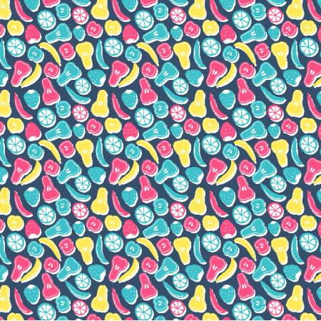 Fabric 3623 | fruits