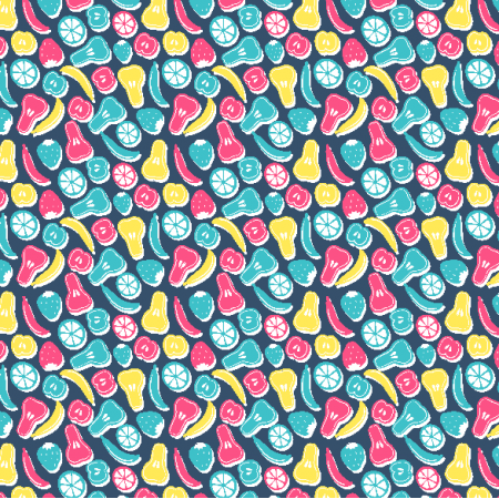 Fabric 3623 | fruits