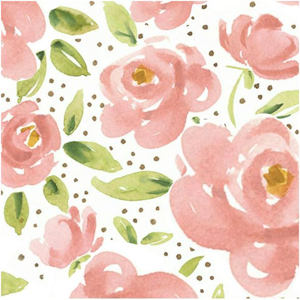 Tkanina 3687 | Róże