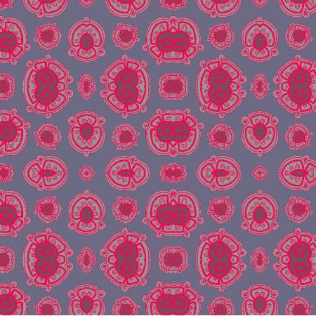 Fabric 3701 | 1 amarant w szarościach