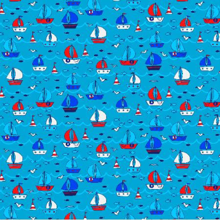 Tkanina 3704 | boats