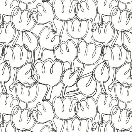 Fabric 3727 | Tulips