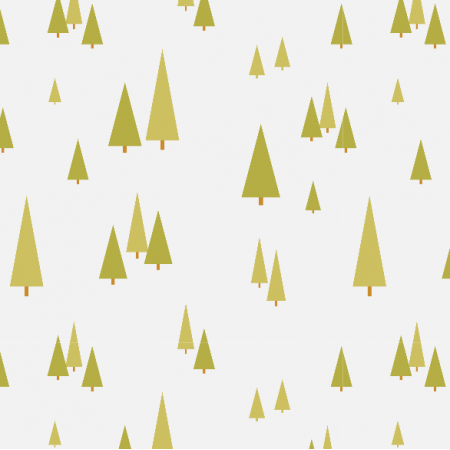 Fabric 3877 | forest trees, grey
