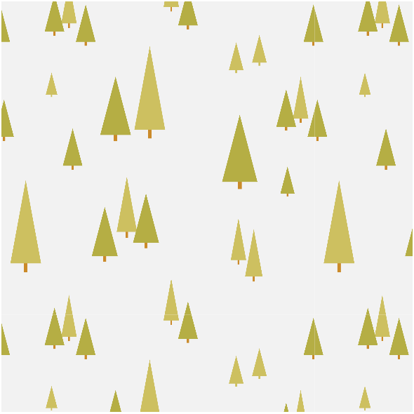 Tkanina 3877 | forest trees, grey