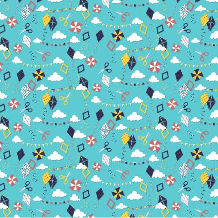 Fabric 3917 | paper kites