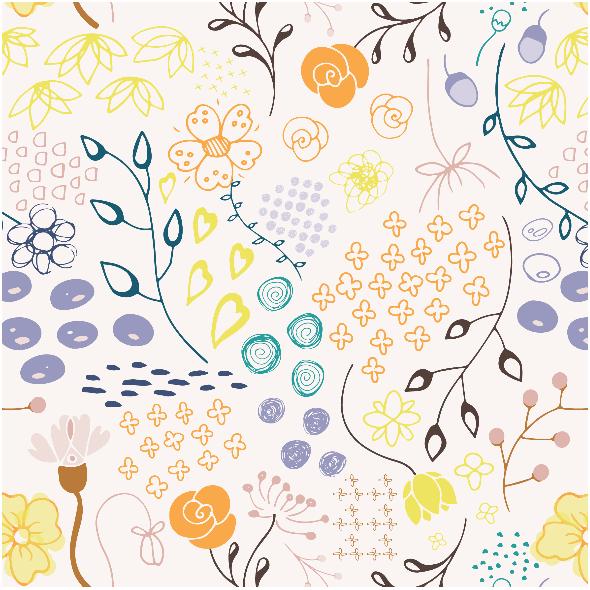 Tkanina 3973 | summer floral
