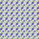 Tkanina 3983 | gerbery fioletowe