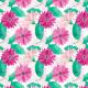 Fabric 3984 | Gerbery różowe