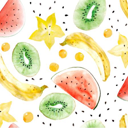 Fabric 3985 | sałatka owocowa