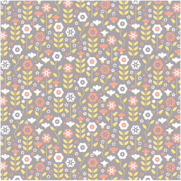 Tkanina 4070 | flowers