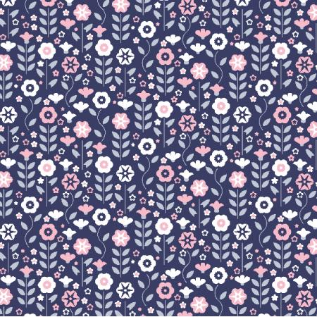 Fabric 4071   flowers
