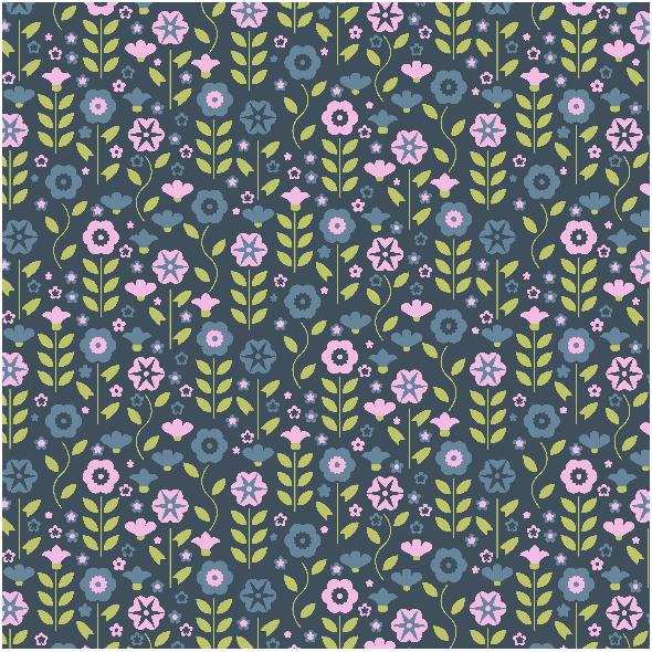 Tkanina 4073 | flowers