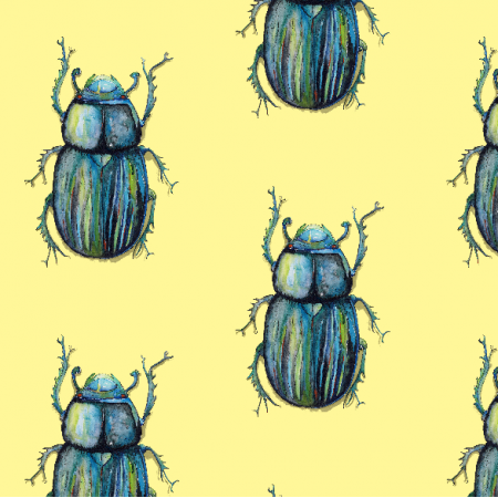 Tkanina 4122 | Find the beetles