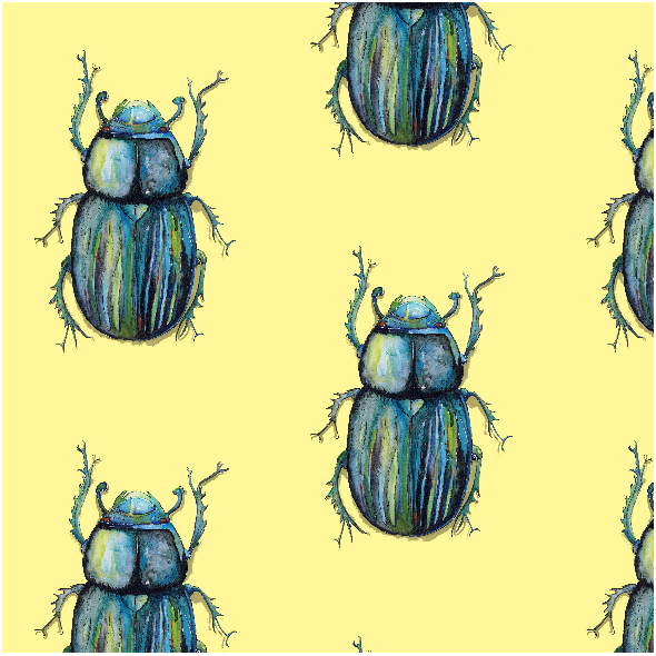 Tkanina 4122 |żuki  Find the beetles1