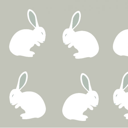 Fabric 4296 | Rabbits